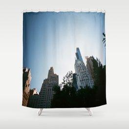 Columbus Circle - Manhattan - NYC Shower Curtain