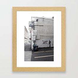 Dreams Cancelled Framed Art Print