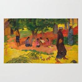 "Paul Gauguin ""Taperaa Mahana (Late Afternoon)"" Rug"