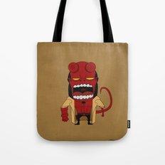 Screaming Helldude Tote Bag