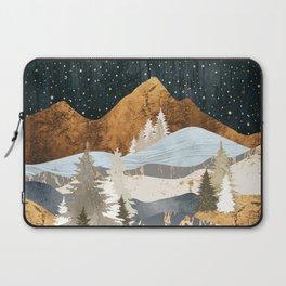 Winter Stars Laptop Sleeve