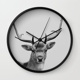 Smile My Deer Wall Clock