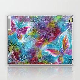 Blossom Like a Butterfly   Mimi Bondi Laptop & iPad Skin