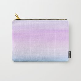 Touching Unicorn Girls Watercolor Abstract #1 #painting #decor #art #society6 Carry-All Pouch