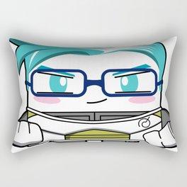 Kawaii Warrior Rectangular Pillow
