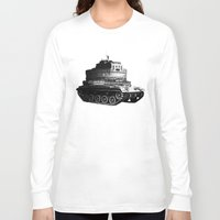 kafka Long Sleeve T-shirts featuring Kafka Tank by paragraph