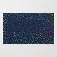 constellations Area & Throw Rugs featuring Constellations by datavis/pwowk