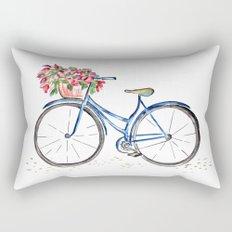 Spring bicycle Rectangular Pillow