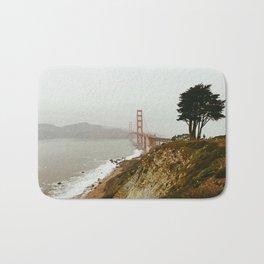 Golden Gate Bridge / San Francisco, California Bath Mat