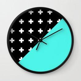 Memphis pattern 78 Wall Clock