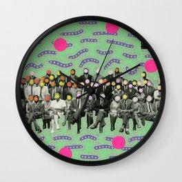 Photobombing Wall Clock