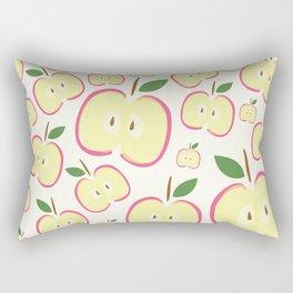 apples digital illustration Rectangular Pillow