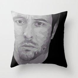 Alex O'Loughlin Throw Pillow