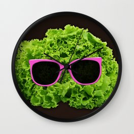 Mr Salad Wall Clock