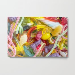 Colorful Candy Metal Print