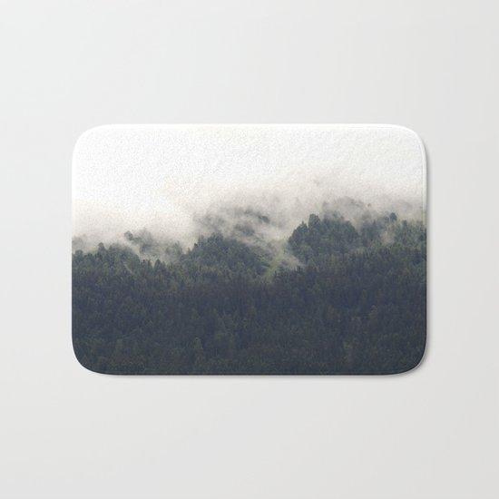 Forest #evergreen # landscape photography Bath Mat
