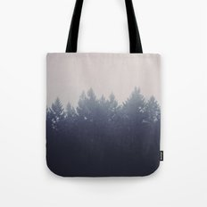 Forest in the Haze Tote Bag