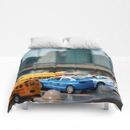 NYC mini cars Comforters