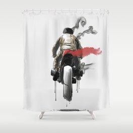 Strait Shower Curtain