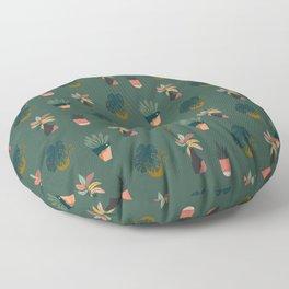 Grow Your Own Way (Dark) Floor Pillow