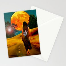 Bloodmoon Stationery Cards