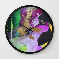 easter Wall Clocks featuring Easter by Jordy Lievers-Eaton