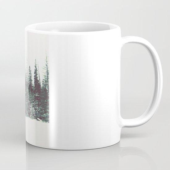Snow on the Pines Coffee Mug