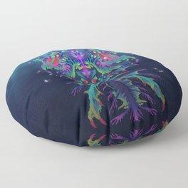Leviathan Deity Floor Pillow