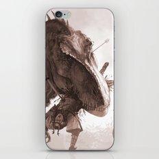 T. rex vs Samurai iPhone & iPod Skin