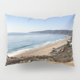 Malibu, California - Coastline Pillow Sham