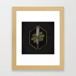 El Machete Framed Art Print