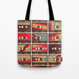 Mixed Tapes Tote Bag
