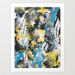 Glitch 3 Art Print