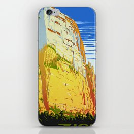Zion National Park - Vintage Travel iPhone Skin