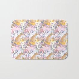 Fancy Rat Pattern Bath Mat