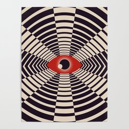The All Gawking Eye Poster