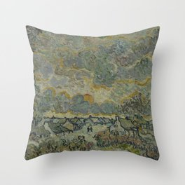Reminiscence of Brabant Throw Pillow
