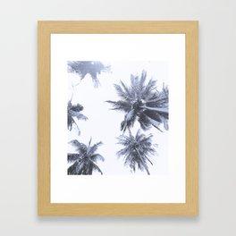 California Dreamin' in Blue Framed Art Print