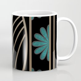 ART DECO FLOWERS (abstract) Coffee Mug