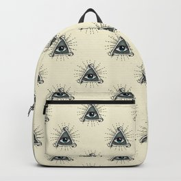 All Seeing Eye Backpack