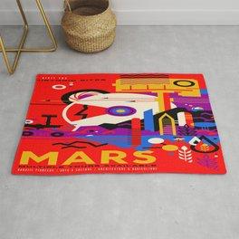 Mars Tour : Galaxy Space Rug