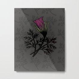Pasque Flower Metal Print