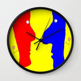 Eye to Eye, a Good Front Wall Clock