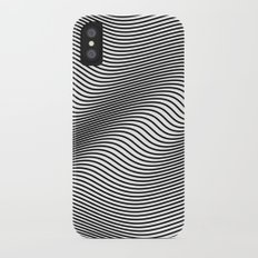 Bold Minimal Lines iPhone X Slim Case