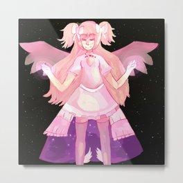 Puella Magi Madoka Magica - Madoka Kaname (Goddess Form) Pillow Metal Print