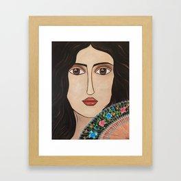 Spanish Woman Framed Art Print