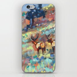 Bull Elk, Yellowstone iPhone Skin