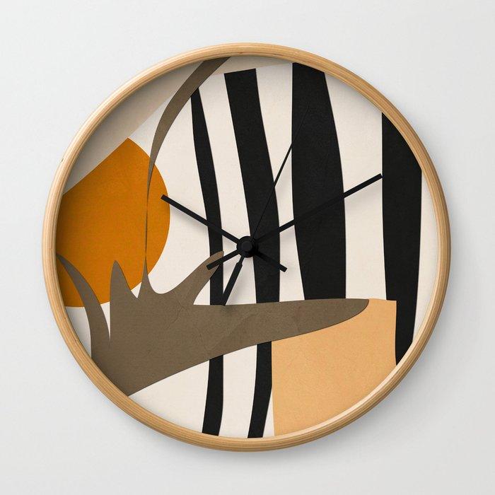 Abstract Art2 Wall Clock