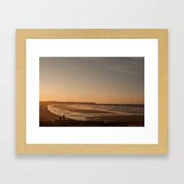 taking in the view Framed Art Print