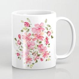 Watercolor Floral Mug Coffee Mug